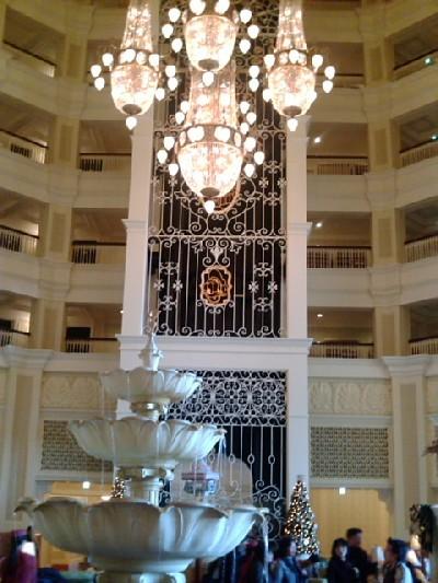 ディズニーランドホテル中2