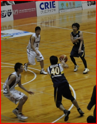 バスケ試合6「
