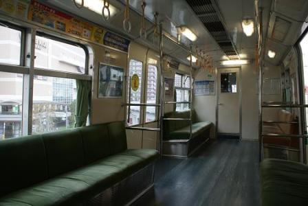ユーカリ線車内