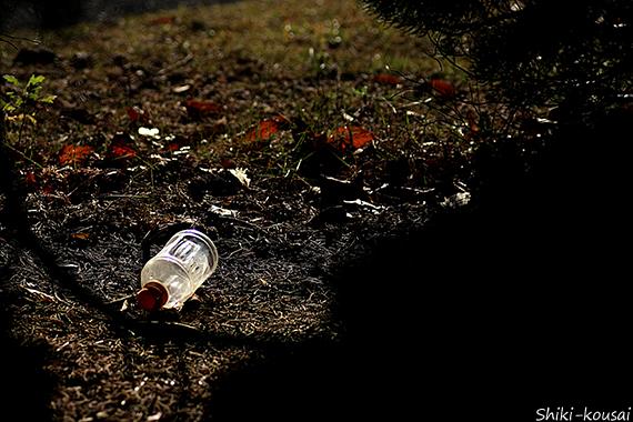 ゴミのポイ捨て