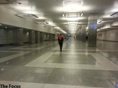 アタテュルク国際空港 地下
