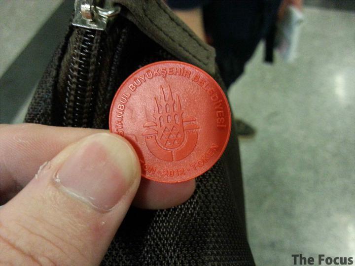 トルコ 電車 コイン