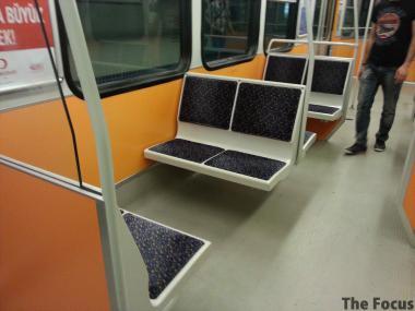 トルコ 電車内