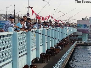 トルコ イスタンブール 釣り