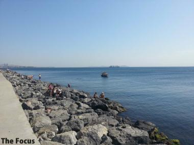 トルコ イスタンブール 海岸