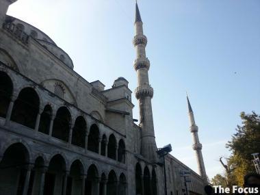 スルタンアフメト・モスク ブルーモスク