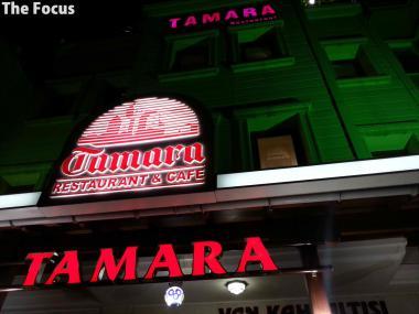 トルコ イスタンブール レストラン TAMARA