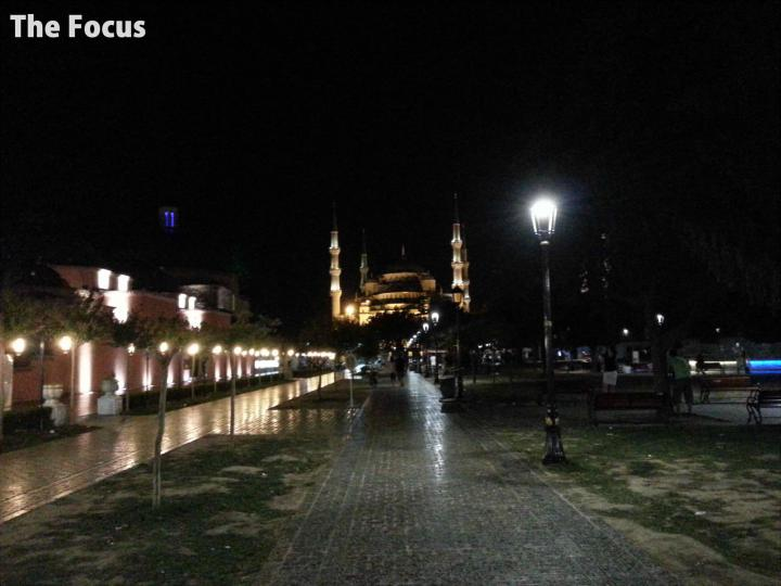 トルコ イスタンブール 夜 モスクa