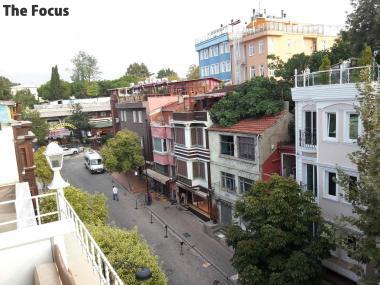 トルコ イスタンブール 屋上