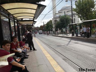 トルコ イスタンブール 電車
