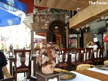 トルコ レストラン ビール