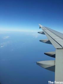 機内 景色
