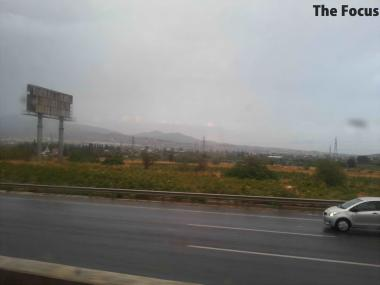 ギリシャ 雨