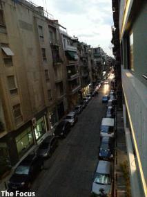ギリシャ アテネ 車 いっぱい