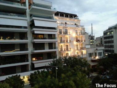 ギリシャ アテネ ユースホステル 眺め