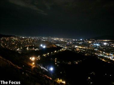 ギリシャ アテネ 夜景