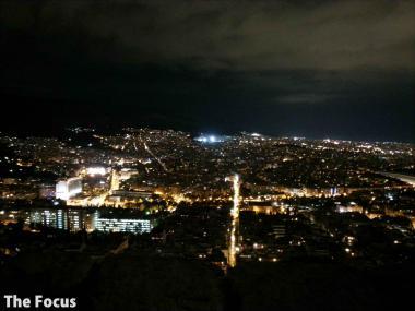 ギリシャ アテネ 夜景 最高