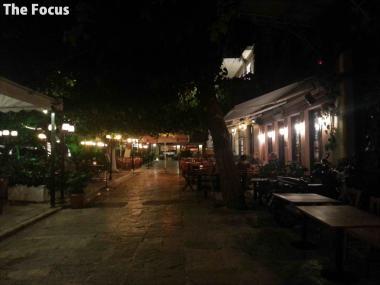 ギリシャ アテネ レストラン