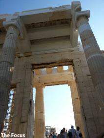 ギリシャ アテネ パルテノン神殿 入り口