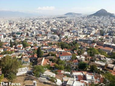 ギリシャ アテネ パルテノン神殿 風景
