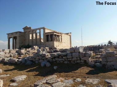 ギリシャ アテネ パルテノン神殿 ごつごつ