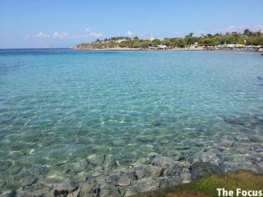 ギリシャ エギナ島 海 綺麗