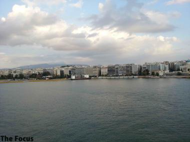 ギリシャ ピレウス 出港