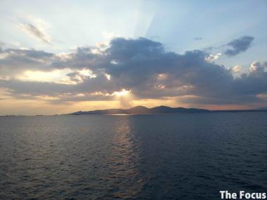 ギリシャ 夕日