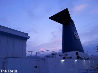 サモス島 船