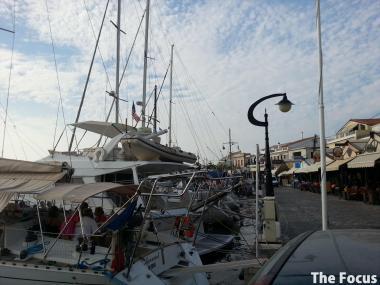 サモス島 ピタゴリオ 船