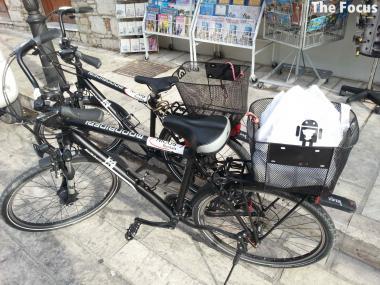 サモス島 ピタゴリオ 自転車 レンタル