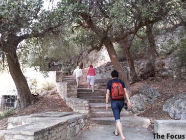 ピタゴリオ 階段