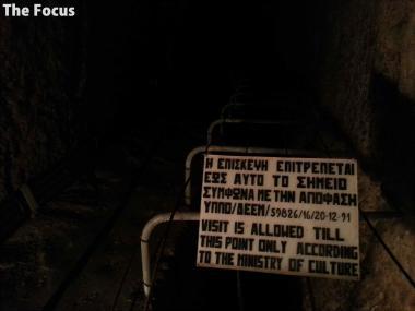 サモス島 洞窟 行き止まり