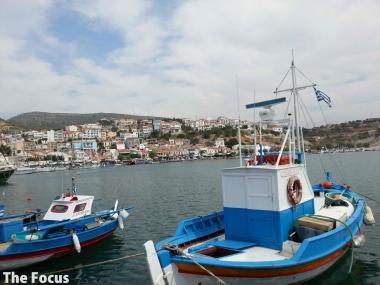 ギリシャ サモス島 ピタゴリオ