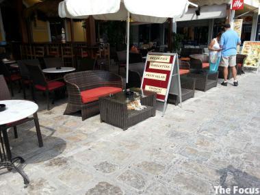 サモス島 ピタゴリオ 猫 ギリシャ
