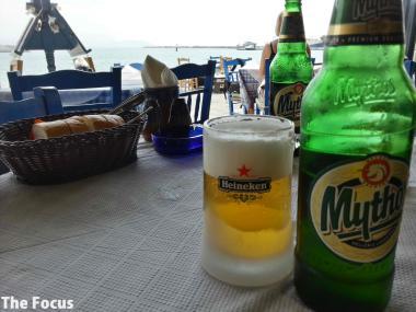 ギリシャ サモス島 ピタゴリオ ビール
