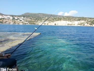 ギリシャ サモス島 ピタゴリオ 釣り