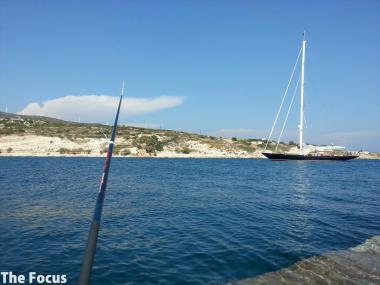 ギリシャ 釣り サモス島 ピタゴリオ