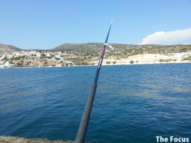 サモス島 ピタゴリオ 釣り ギリシャ
