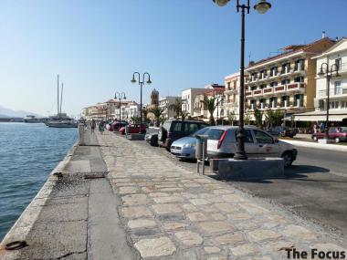 ギリシャ サモス島 道路