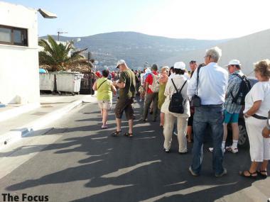 サモス島 ギリシャ 出国 手続き