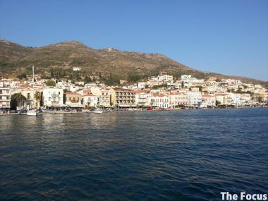 ギリシャ サモス島 出航