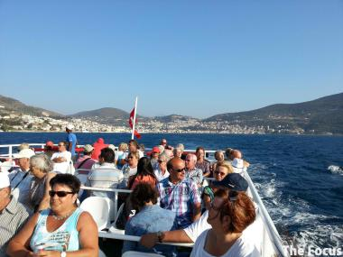 ギリシャ サモス島 出国