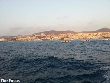トルコ 海 クサダシ