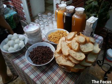 トルコ エフェス 朝食