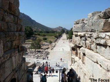 エフェス エフェス遺跡 トルコ