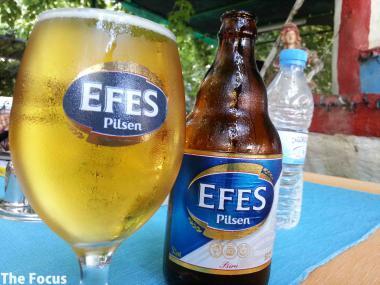 トルコ セルジュク ビール EFES