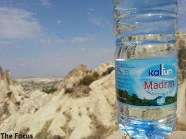 カッパドキア ギョレメ野外博物館 トルコ 水