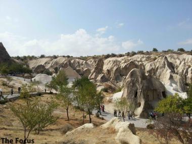 世界遺産 カッパドキア ギョレメ野外博物館 トルコ
