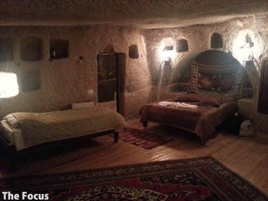 トルコ カッパドキア 洞窟ホテル